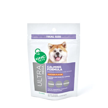 Ultra Mega Calming Formula for All Dogs - Yummy Chicken Flavor - TRIAL SIZE | GNC