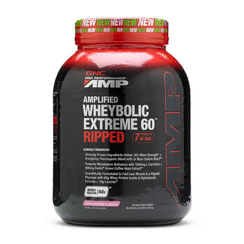 Amplified Wheybolic Extreme 60™ Ripped - Strawberries and CreamStrawberries & Cream | GNC