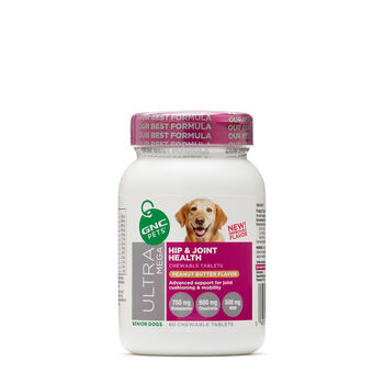 Ultra Mega Hip & Joint Health - Senior Dogs - Dreamy Peanut ButterPeanut Butter Flavor | GNC