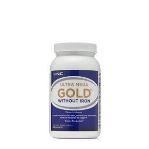 Ultra Mega® Gold Without Iron | GNC