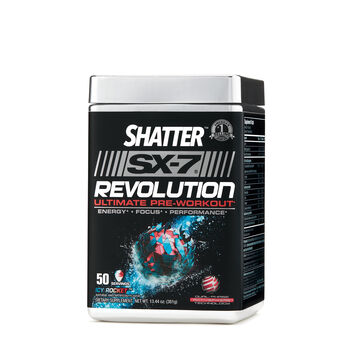 Shatter™ SX-7® Revolution Ultimate Pre Workout - Icy RocketIcy Rocket | GNC