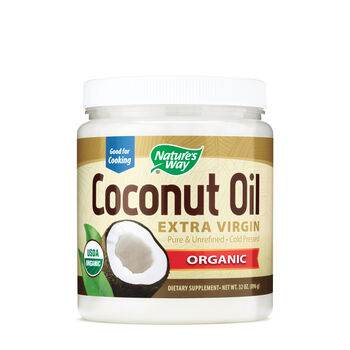 Coconut Oil - Organic | GNC