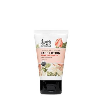 Lightweight Moisturizing Face Lotion - Argan + Rosewater | GNC