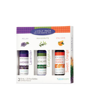 Lively Pack - 100% Pure Essential Oils | GNC