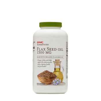 Flax Seed Oil 1300 MG | GNC
