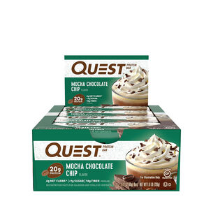 Quest Bar® - Mocha Chocolate ChipMocha Chocolate Chip | GNC