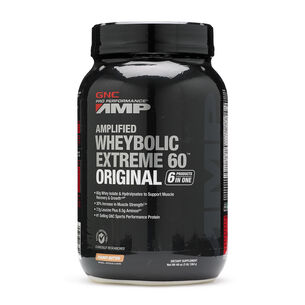 Amplified Wheybolic Extreme 60™ Original - Peanut ButterPeanut Butter | GNC