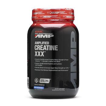 Amplified Creatine XXX™ - Blue RaspberryBlue Raspberry | GNC