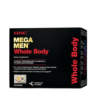 Mega Men® Whole Body Vitapak® Program | GNC