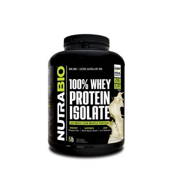 100% Whey Protein Isolate - Cinnamon BunCinnamon Bun | GNC