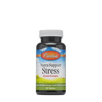 Nutra Support® Stress Vitamin B Complex | GNC