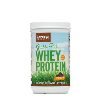 Grass Fed Whey Protein - ChocolateChocolate | GNC