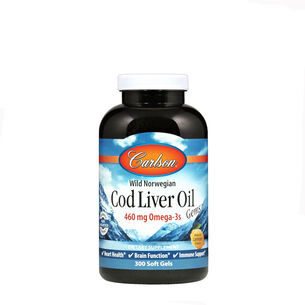 Cod Liver Oil Gems™ - Lightly Lemon | GNC