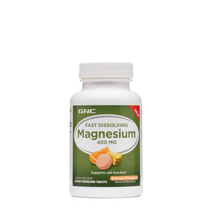 Fast Dissolving Magnesium 400 MG- Orange Pineapple | GNC