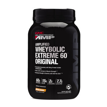 Amplified Wheybolic Extreme 60™ Original - Salted Caramel   GNC