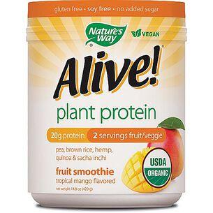 Alive!® Plant Protein - Tropical MangoTropical Mango | GNC