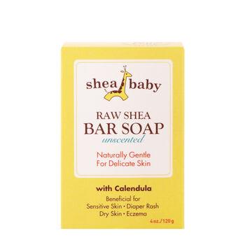 Raw Shea Bar Soap Unscented   GNC