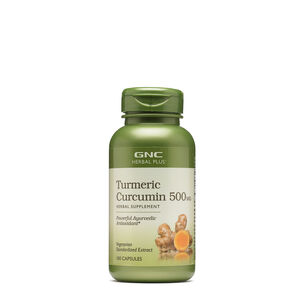 GNC Herbal Plus Turmeric Curcumin 500MG