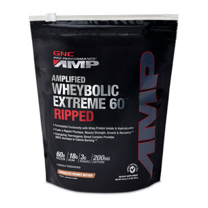 Amplified Wheybolic Extreme 60™ Ripped - Chocolate Peanut ButterChocolate Peanut Butter | GNC