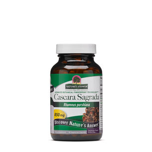 Cascara Sagrada 850mg | GNC