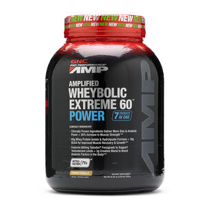 Amplified Wheybolic Extreme 60™ Power - French VanillaFrench Vanilla | GNC