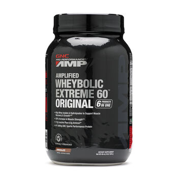 Amplified Wheybolic Extreme 60™ Original - ChocolateChocolate | GNC