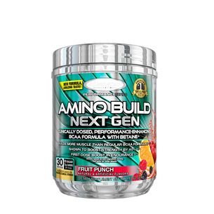 AMINO BUILD® NEXT GEN ENERGIZED - Fruit Punch SplashFruit Punch Splash | GNC