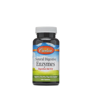 Natural Digestive Enzymes Digestive Aid #34 | GNC
