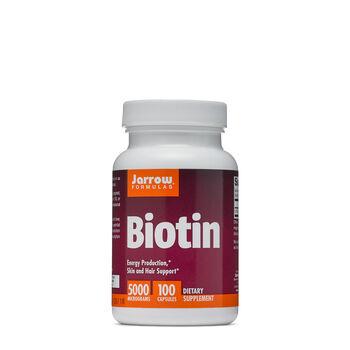 Biotin 5000 MICROGRAMS | GNC
