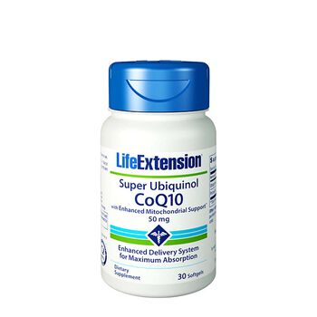 Super Ubiquinol CoQ10 50 mg | GNC