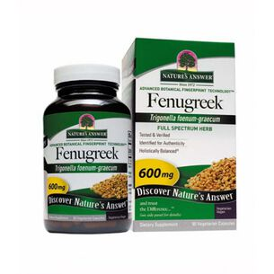 Fenugreek 600mg | GNC