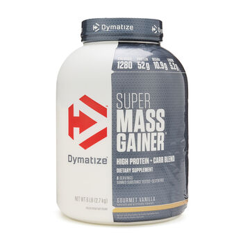 Super Mass Gainer - Gourmet VanillaGourmet Vanilla | GNC