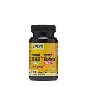 Methyl B-12 & Methyl Folate - Lemon | GNC