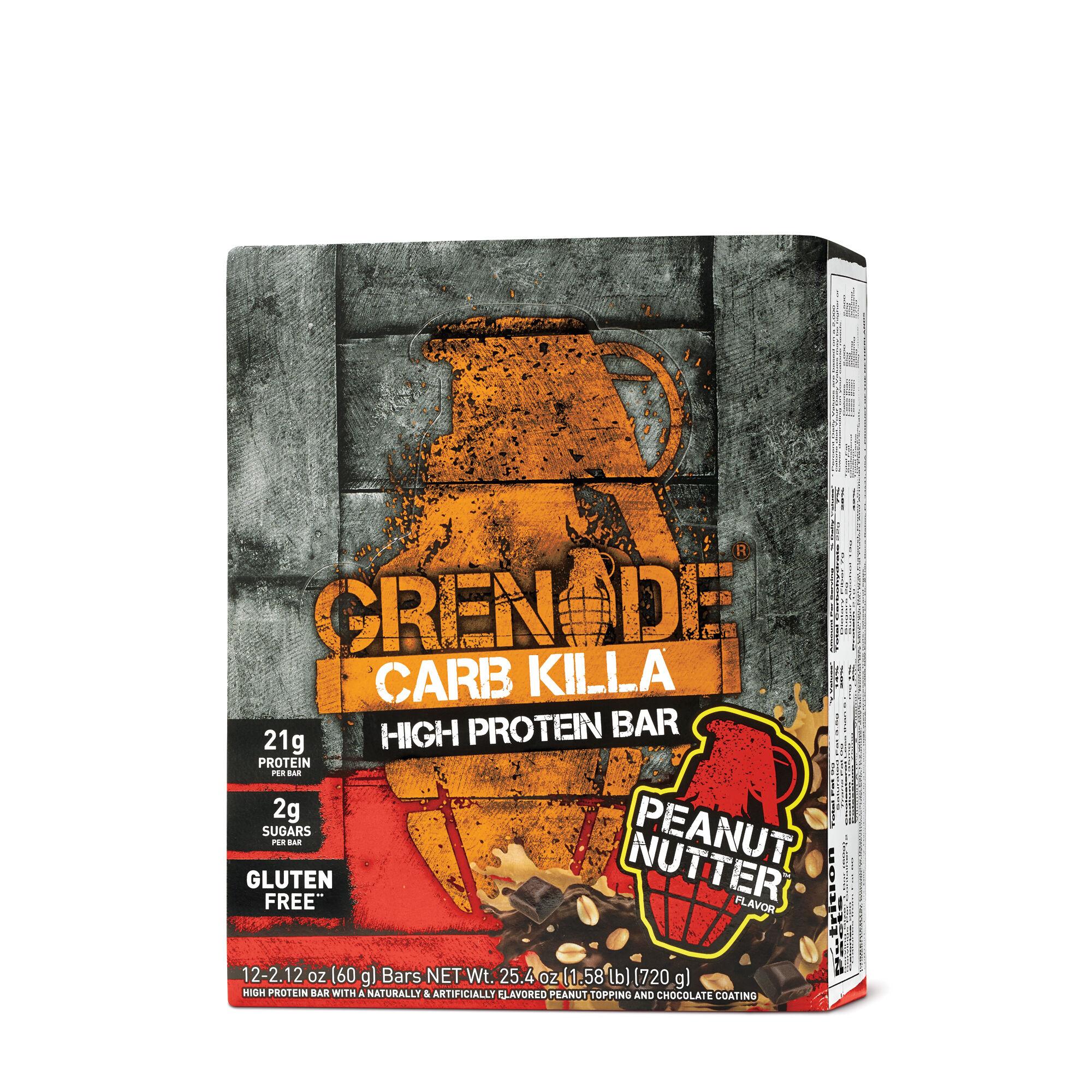 Carb Killa Peanut Butter GrenadePre & Post Workout Bars