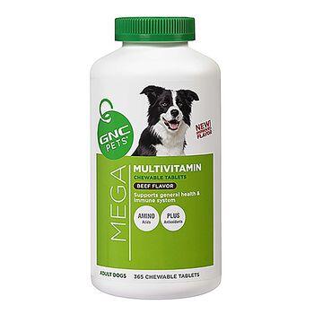 Mega Multivitamin - Adult Dogs - Beef Flavor | GNC