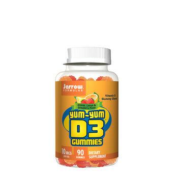 Yum-Yum D3 Gummies - Orange, Lemon and Strawberry | GNC