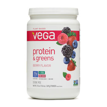 Protein & Greens - BerryBerry Flavor | GNC