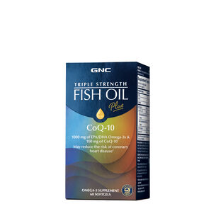 Triple Strength Fish Oil Plus CoQ-10 | GNC