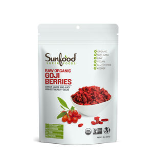 Raw Organic Goji Berries | GNC