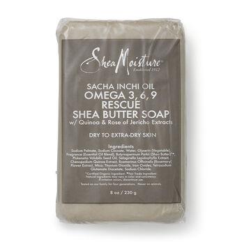 Sacha Inchi Oil Omega 3, 6, 9 Rescue Shea Butter Soap | GNC