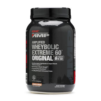 Amplified Wheybolic Extreme 60™ Original - Cookies and CreamCookies and Cream | GNC