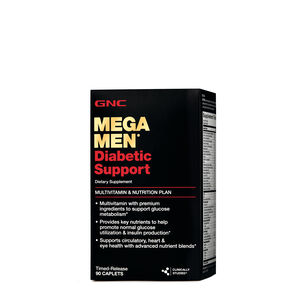 Mega Men ® Diabetic Support | GNC