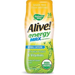 Alive!® energy max water enhancer - Tropical FusionTropical Fusion | GNC