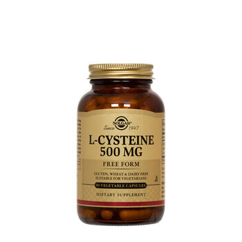 Solgar 174 L Cysteine 500 Mg Gnc