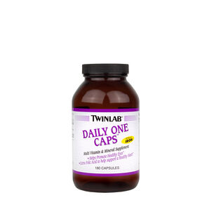 Daily One Caps™ Without Iron | GNC