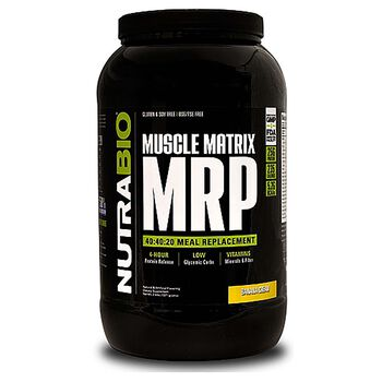 Muscle Matrix MRP - Banana CreamBanana Cream | GNC