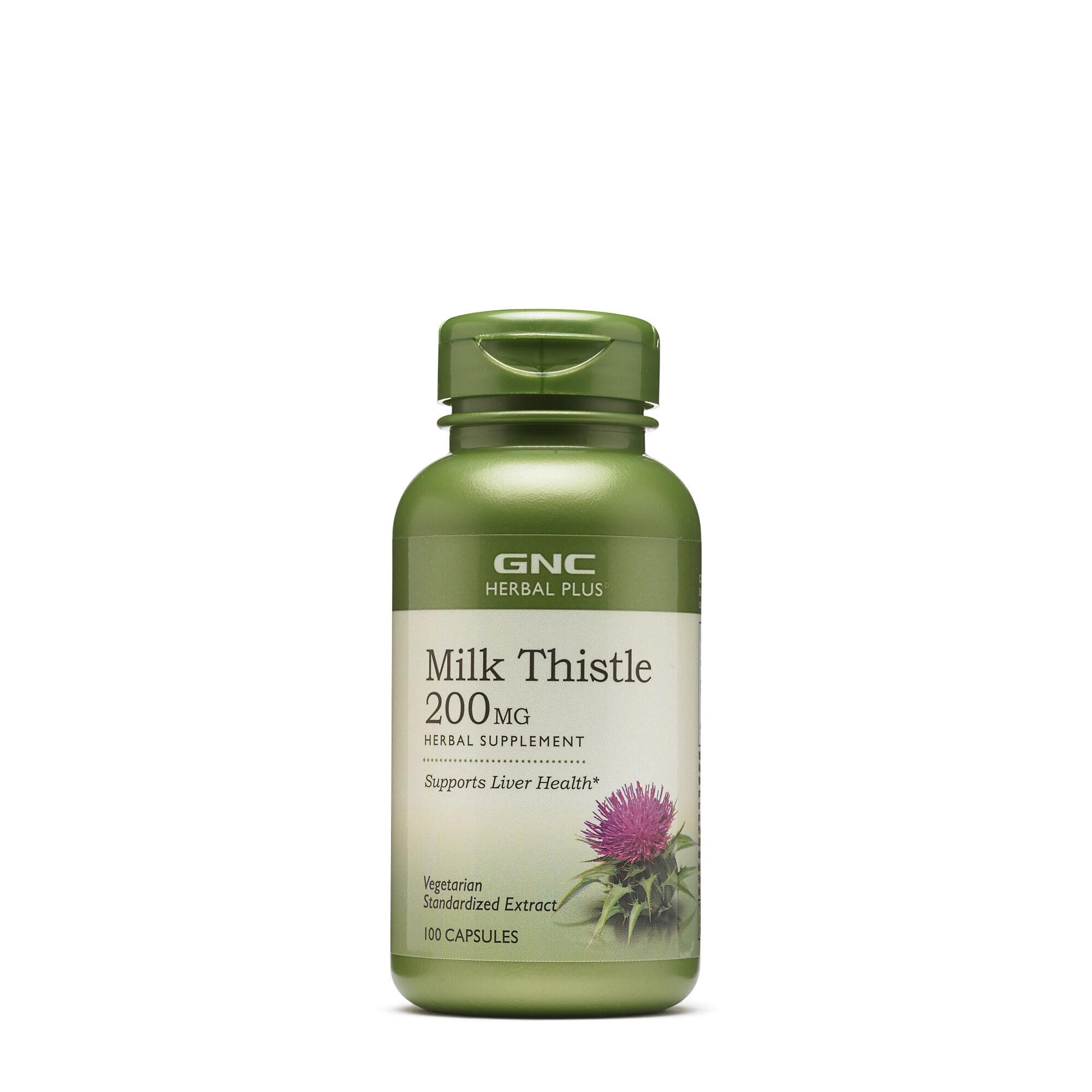 GNC밀크씨슬 Herbal Plus Milk Thistle 200 MG
