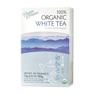 100% Organic White Tea | GNC