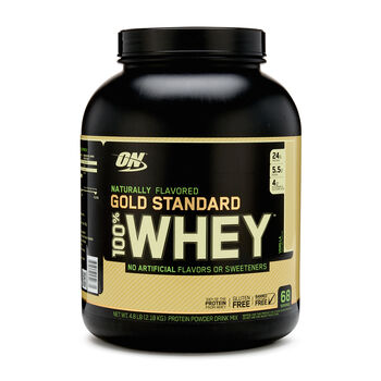 Gold Standard 100% Whey™ Naturally Flavored - VanillaVanilla | GNC