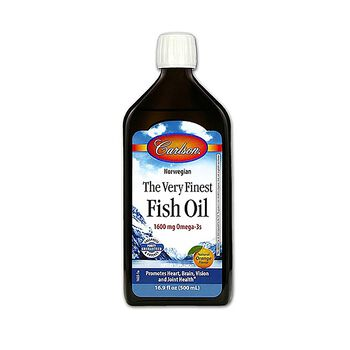 The Very Finest Fish Oil 1600 mg Omega-3s - Natural Orange FlavorNatural Orange Flavor | GNC